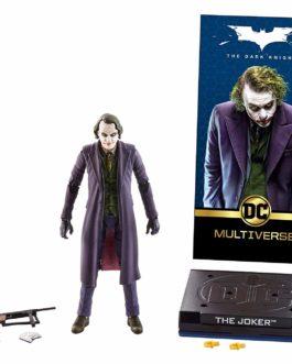 DC Comics Multiverse Figura de Acción Deluxe, Guasón, 6 Pulgadas