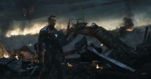 Avengers Endgame, Escena eliminada, Honor a Iron Man
